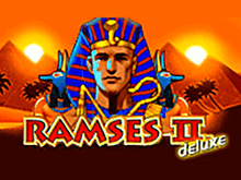 Ramses II Deluxe - играть на деньги в игровые автоматы